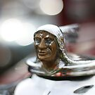 Vintage Plymouth Radiator Cap by Stuart Daddow Photography