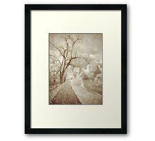 Autumn's Last Breath Framed Print