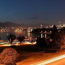 English Bay at Twilight,  Vancouver, BC  by AnnDixon
