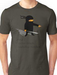 Geek Tee - CSS Jokes - Ninja Unisex T-Shirt