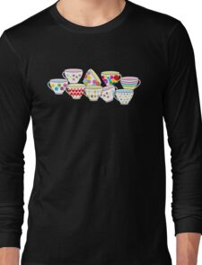 Tea or Coffee Cup Long Sleeve T-Shirt