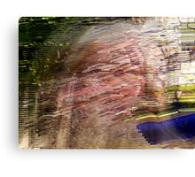 conceptual development of obliterative existence! Canvas Print