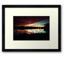 Cossington South Lakes Framed Print