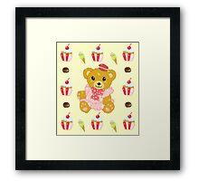 Sweets Bear Framed Print