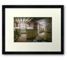 Beans coffee shop, Olney Framed Print