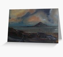 St Michaels' Mount... Cornwall Greeting Card