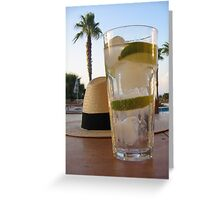 G&T Time Greeting Card