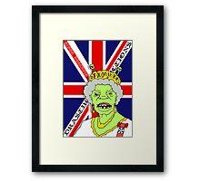 The Reptile Royal Family Framed Print
