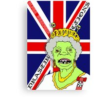 The Reptile Royal Family Canvas Print