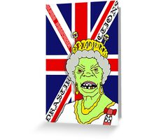 The Reptile Royal Family Greeting Card