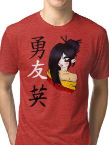 geisha Tri-blend T-Shirt