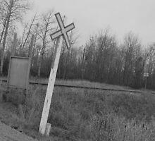 Railroad Crossing by SteffanieSalo