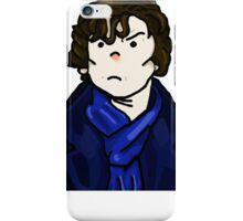 Sherlock Holmes In Action iPhone Case/Skin