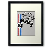 VW Herbie 53 Framed Print