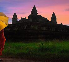 Majestic, Angkor Wat. by Darren Wilch