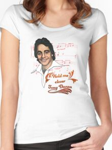 Hold me closer Tony Danza Women's Fitted Scoop T-Shirt