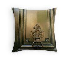 Discreet but artful Throw Pillow