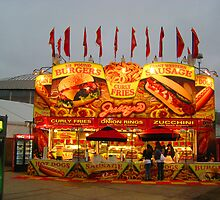 Hamburgers & Fries by Christine Wilson
