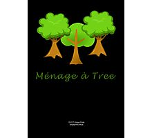 Ménage à Tree Photographic Print