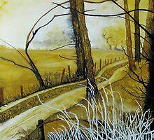 PATH AT HARLESTON, NORFOLK by ANNETTE HAGGER