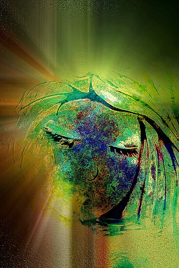 Psychedelic Dream - Abstract Art by Renee Dawson
