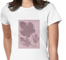 Autumn Shadows Womens Fitted T-Shirt