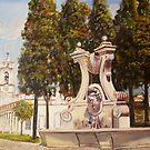 Fontanário  do Palácio de Queluz  <Portugal> by josevictor