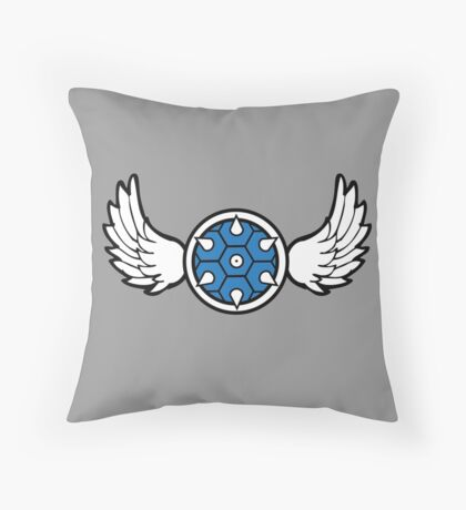 Mario Kart - Blue Shell Throw Pillow