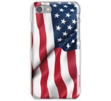 Patriotic USA Flag iPhone Case/Skin