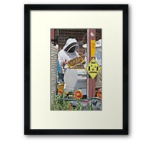 Busy Bees Framed Print