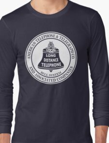Vintage American Telephone and Telegraph - Bell System Long Sleeve T-Shirt