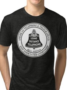 Vintage American Telephone and Telegraph - Bell System Tri-blend T-Shirt