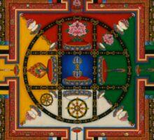 Mandala of Yamantaka Sticker