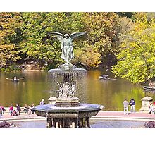 Bethesda Fountain in Central Park Photographic Print