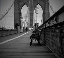 Tina Picard Photography - Brooklyn Bridge by tinapicardphoto