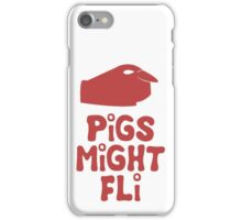 PiGS MiGHT FLi iPhone Case/Skin