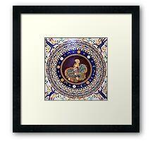 Athena mosaic in the Vatican Museums Framed Print