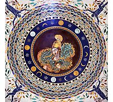 Athena mosaic in the Vatican Museums Photographic Print