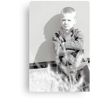 The Cantankerous Look Canvas Print