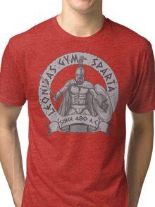 leonidas spartans gym Tri-blend T-Shirt