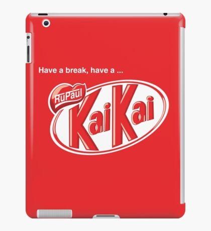 KaiKai (with slogan) iPad Case/Skin