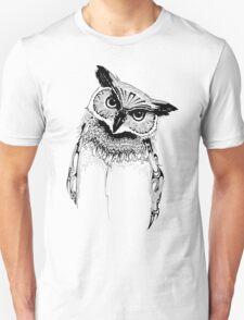 Owl (What A Hoot) Unisex T-Shirt