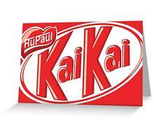 KaiKai (no slogan) Greeting Card