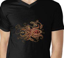 Red Spider Tee Mens V-Neck T-Shirt