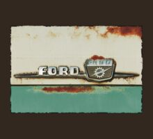 Turquoise Rusted Ford F100 T-Shirt
