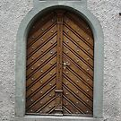 Antique Door, Rapperswill, Switzerland by jaeepathak