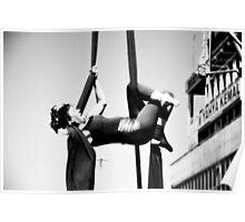 Flexible woman Poster
