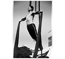 Flexible man Poster