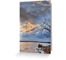 Onondaga Lakefront at Sunset Greeting Card