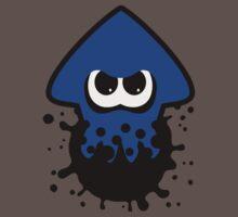 Splatoon Squid Blue Kids Clothes